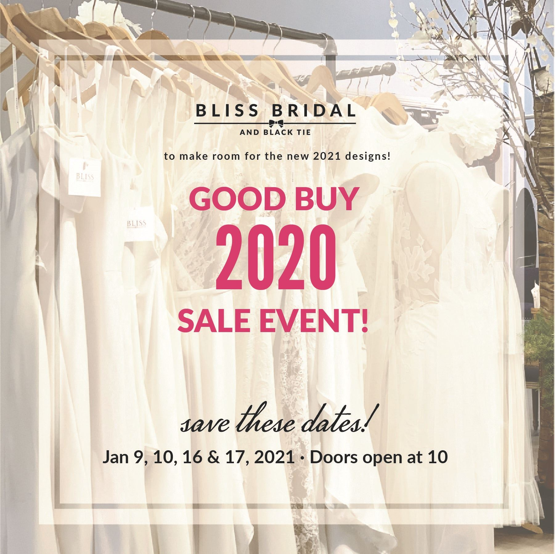 Good Buy 2020 Sale Event!